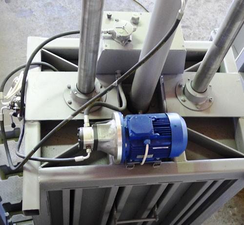 Вертикальный пресс СТАТИКО-24 - гидравлические оборудование